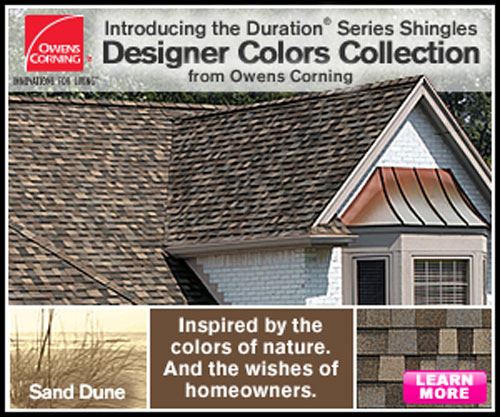 Owens Corning Preferred Contractor Complete Roofing Option